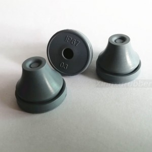 EPDM rubber cable grommetM20 PG11 IP67 grade snap in rubber bushing