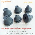 rubber snap in bushing,ip67 grade rubber grommet waterproof and dustproof PG9