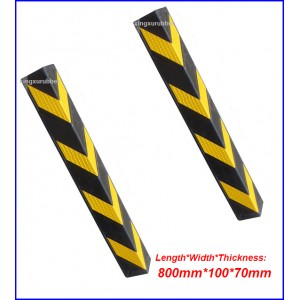 Rubber protector corner/Wall corner/Parking wall corner/Village wall rubber corner