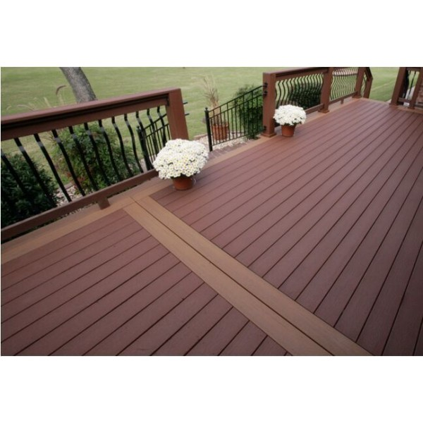 Wpc decking wpc floor wpc hollow decking wpc solid decking for Composite flooring for decks