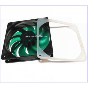 frame pad/Rear Fan Protective Cover/computer frame pad/computer fan silicone pad/silicone computer gasket/silicone washer