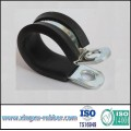 rubber hose clamp,cushion clamp,metal clamp,p clip,clip,hose clamp,pipe clamp,tube clip,tube clamp,fastener