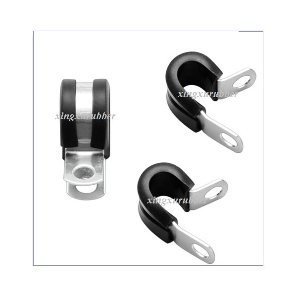 rubber clamp,rubber lined pipe clamp,pipe clamp with rubber