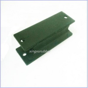 vibration pad rubber with steel,rubber pad,anti vibration pad,rubber to metal block,rubber metal buffer