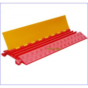 4 channel cable protector,cable ramp,cable hump,cable guard,hose ramp,rubber products,traffic rubber parts