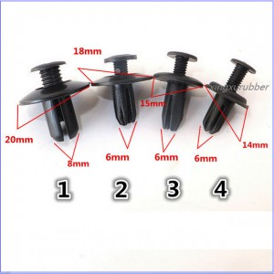 auto plastic button/car plastic buckle/plastic nut/plastic clip/auto plastic protection button