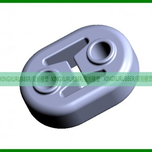 rubber exhaust hanger,car rubber hanger,Muffler suspension,Exhaust pipe hanger