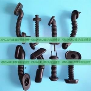 mold rubber grommet,rubber cover,electronic rubber grommet,oval shaped grommet,