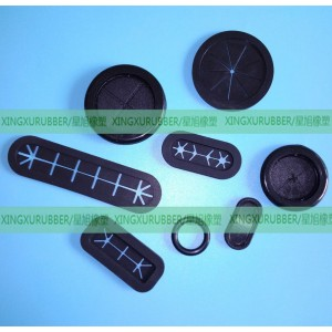 oval shaped rubber grommet,silicone rubber grommet,wire rubber grommet,computer rubber parts ,black rubber