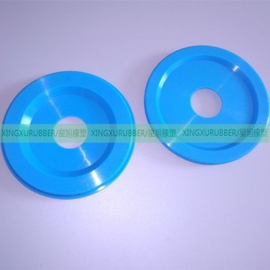 blue color silicone cable grommet,molded silicone rubber parts,colored silicone rubber grommet