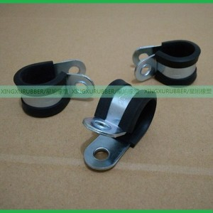 EPDM Rubber cushion clamp,Zinc metal clamp,Rubber pipe clamp,Loop clamp,AS21919 clamp,wire clips,R type clamp
