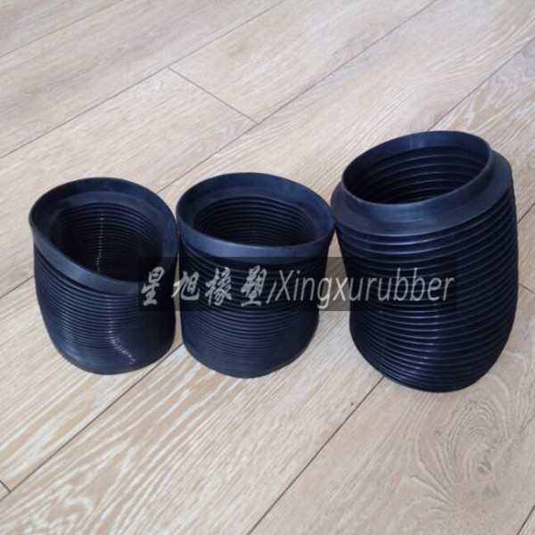 Rubber bellow intake hose air cleaner