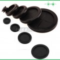 rubber double faced grommet,rubber single side grommet,round cable grommet,blind grommet,semi grommet,electronic grommet