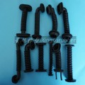 double hole rubber grommet /silicone grommets/black grommet/colored grommet/grommets/wire grommet/metal grommet